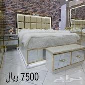 غرف نوم مودرن كلاسيك مع مرتبة هدية
