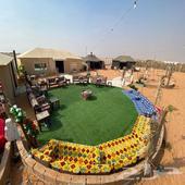 مخيم للايجار(Vip)بالعاذرية لمناسبات والشركات