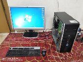 كمبيوتر HP I7. مع شاشة 23 بوصة