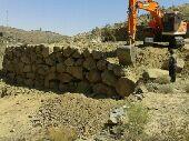 بناء الحجر الطبيعي بكل انواعه