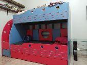 سرير طابقين للأطفال