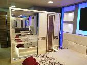 غرف نوم فخمه وانيقة مع اضاءة رومانسيه