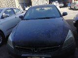 هوندا اكورد مديل 2007 اللون اسود للبيع قطع.