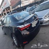 كورولا 2019شرط علا الفحص جير ومكينه وشاص