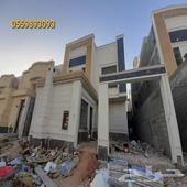 للبيع فيلا درج داخلي وشقه في حي الحزم الرياض