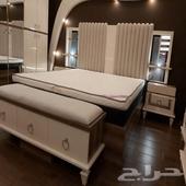 غرف نوم مودرن فاخرة