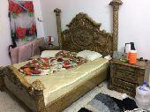 غرفة نوم للبيع نضيفه