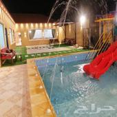شاليه جناح فندقي للإيجار الحرازات