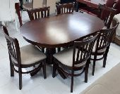 طاولات طعام ماليزي خشبي