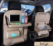 2 حامل اغراض جلد فاخر لجميع السيارات للمقاعد
