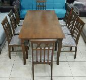 طاولة 8كراسي خشب ماليزي