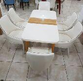 طاولات 6 كراسي تركية فخمة