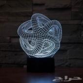 إضاءات ثلاثية ابعاد 3D