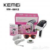 جهاز ازالة الشعر بالليزر من ماركة KEMEI