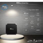 جهاز رسيفر X96MINI مع اشتراكين سنة