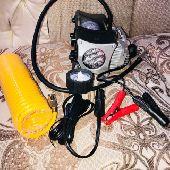 ماطور هواء لكفرات السياره ومحول كهرباء