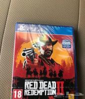 شريط red dead 2  وشريط Battlefield سوني 4