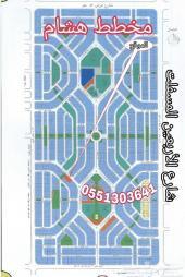 للبيع ارض بمخطط هشام مساحة 780 متر موقع مميز