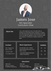 سيرة ذاتية احترافية - CV Resume
