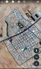 ارض تجاريه للبيع بالجوف مساحته1048م له3شوراع