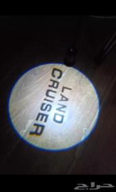 بروجكتر للابواب بشعار Land Cruiser.