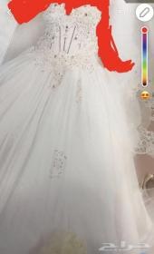 فستان زواج لبس 3 ساعات