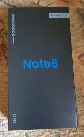 سامسونج نوت 8 جديد 256GB - سعر 3800 ريال