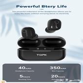 سماعات بلوتوث Topk بتقنية تقليل الضوضاء
