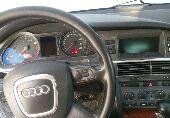 الرياض - اودي A6 2005 نص فل  نظيفه