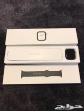 ساعه ابل واتش مقاس 44 الاصدار 4 Apple Watch