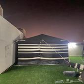 بيت شعر مكيفات شباك كرسي بمظله من ساكو مظلة ساكو