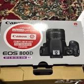 كاميرا كانون للبيع موديل 800دي أحترافية