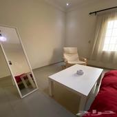 غرفة نوم كامله جديده من ايكيا استخدام اربع اشهر فقط مع ثلاجه