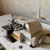 مكينة سرفلة الخياطة (مكينة نظافة) اصلي