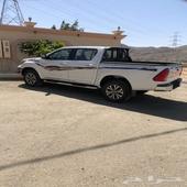 هايلكس 2020 دبل سعودي غمارتين ماشي 24000 جديد