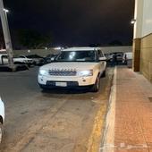 Land Rover LR4 ممشى قليل  2012 ابيض