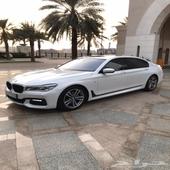للبيع BMW750iL2016سعودي فل الفل