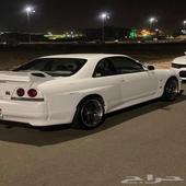 نيسان GT-R33 للبيع اوالبدل بالمناسب