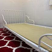 سرير ايكيا نفر واحد مع مرتبه نفر من سليب هاي