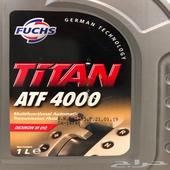 زيت قير و درسكون فوكس تيتان ATF 4000 Dexron III (H)