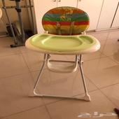 كرسي اكل للأطفال عدد 2