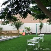 للبيع استراحه البستان بالطائف حي العرفاء جوار المطار