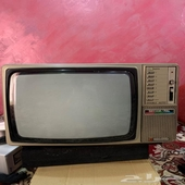 تلفزيون ناشيونال ياباني تراث قديم بحالة ممتازه