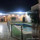 للايجار شاليه حي الخير شمال الرياض 500ريال