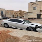 كامري 2018 مصدومه اول حادث فل كامل