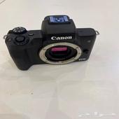 للبيع كاميرا كانون EOS m50 جديده لم تستخدم