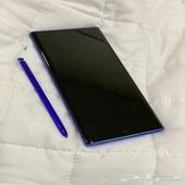 جلكسي نوت10 بلاس 5G اخررر اصدار اللون ازرق الذاكره 256