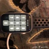 ساعة ابل واتش سيرس 5 44MMللبيع سيلفر البيع لعلاسومه