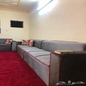 شقه 4 غرف وصاله مع سطح للايجار بحي النهضه