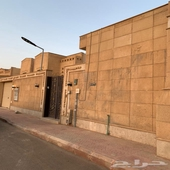 فيلا حي اليرموك الغربي مساحة 600 متر دور وشقتين والسطح فاضي